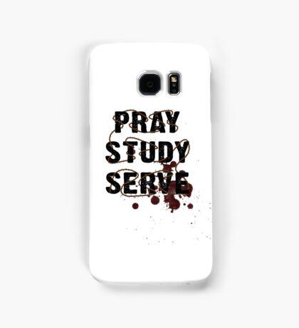 Pray Study Serve: Thorns Samsung Galaxy Case/Skin