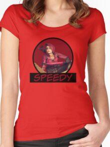 Speedy - Thea Queen - Comic Book Text Women's Fitted Scoop T-Shirt