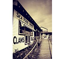 Sea Food Market Photographic Print