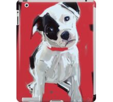 Dog Doggie Red iPad Case/Skin