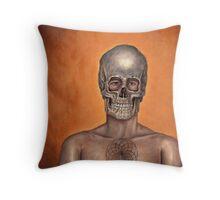 Dried Bones Throw Pillow