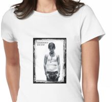 Johnny Depp II Womens Fitted T-Shirt