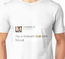 dinah jane tweet Unisex T-Shirt