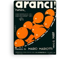 ARANCI (vintage illustration) Canvas Print
