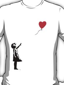 Banksy Balloon T-Shirt