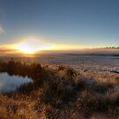 McPhersons Plains Sunrise. by GailD