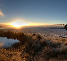 McPhersons Plains Sunrise. by GailD