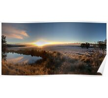 McPhersons Plains Sunrise. Poster