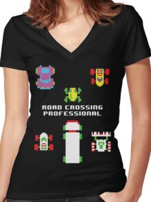 Leave it to the Pros Women's Fitted V-Neck T-Shirt