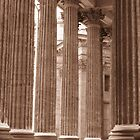 Columns at Kazan Cathedral by Mary-Elizabeth Kadlub