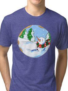 Sweet Snowfall Tri-blend T-Shirt