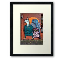 Boys night out Framed Print
