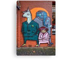 Boys night out Canvas Print