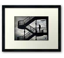 mobile escape Framed Print