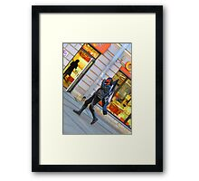 Walking to the Beat of a Darker Drum Framed Print