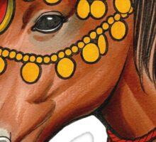 """Gypsy Horse"" Sticker"