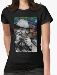 Home on the Rangefinder Womens Fitted T-Shirt