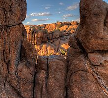 A Cliff With A View by Bob Larson