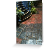Orleans Damp Greeting Card
