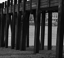 Wooden Pier by David Griffin