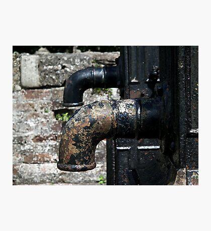 Town Pumps Photographic Print