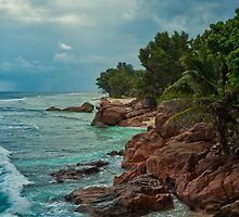 Tropical Storm, Seychelles by Marco Romani