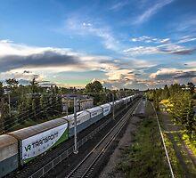 Cargo Train by Matti Ollikainen
