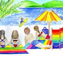 family beach day by Hbeth