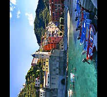 Vernazza Panorama iPhone 4 Case by Warren Paul Harris