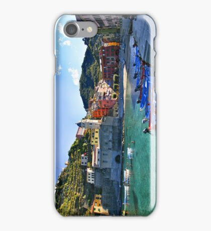 Vernazza Panorama iPhone 4 Case iPhone Case/Skin