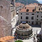 Onofrio's Fountain - Dubrovnik by Sue Gurney