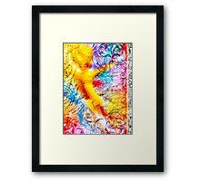 UTAGE-Banquet(bright) Framed Print