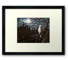 The Night Watcher Framed Print