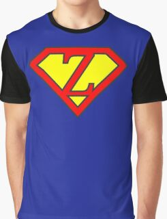 Z letter in Superman style Graphic T-Shirt