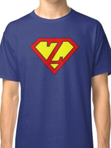 Z letter in Superman style Classic T-Shirt