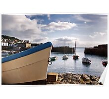 Mousehole Harbour 3 ~ Cornwall Poster