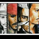 Different shades of Johnny Depp by mellimac