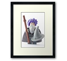 Gandalf's bad hair day, that's why he wears the hat Framed Print