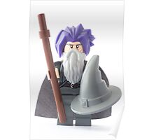 Gandalf's bad hair day, that's why he wears the hat Poster