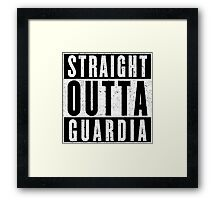 Guardia Represent! Framed Print