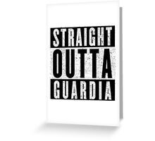 Guardia Represent! Greeting Card