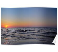 Beautiful Morning on the Gulf Coast Poster