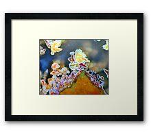 Flower Peak Framed Print