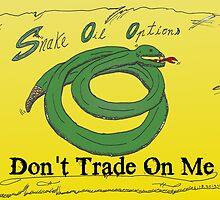 Ne trader pas sur moi - l'avis binaire d'un serpent en caricature by optionsbinaires