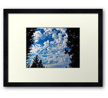 Heaven is More Glorious than This?  Indeed! Framed Print
