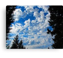 Heaven is More Glorious than This?  Indeed! Canvas Print