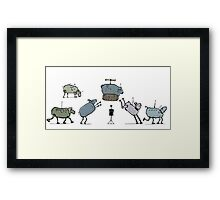 android dream Framed Print