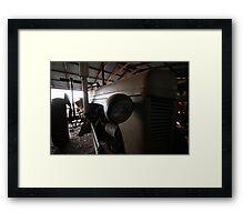 Old Grey Fergie Framed Print