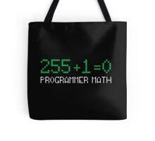 Programmer Math Tote Bag