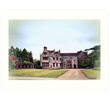 Athelhampton- The Haunted House Art Print